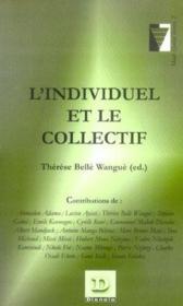 L'Individuel Et Le Collectif - Couverture - Format classique