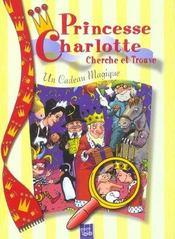 Cadeau Magique Princesse Charlotte - Intérieur - Format classique