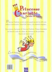 Cadeau Magique Princesse Charlotte - 4ème de couverture - Format classique