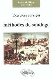 Exercices Corriges De Methodes De Sondage - Intérieur - Format classique