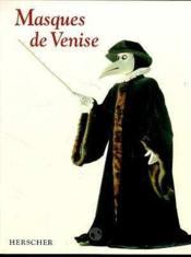 Masques De Venise - Couverture - Format classique