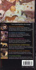 France Prehistorique - 4ème de couverture - Format classique