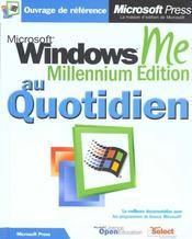 Windows Me - Intérieur - Format classique