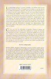 Prevenir Et Vaincre Le Cancer (2e édition) - 4ème de couverture - Format classique