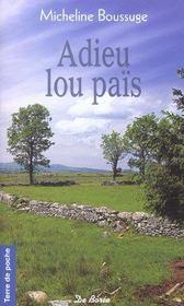 Adieu Lou Pais Gratuit - Intérieur - Format classique