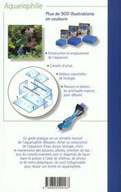 Les Aquariums D'Eau Douce - 4ème de couverture - Format classique