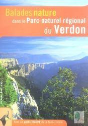 BALADES NATURE ; dans le parc naturel régional du Verdon - Intérieur - Format classique