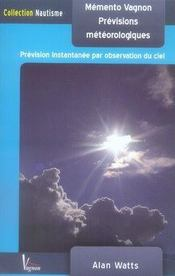 Mémento vagnon des prévisions météorologiques (2e édition) - Intérieur - Format classique