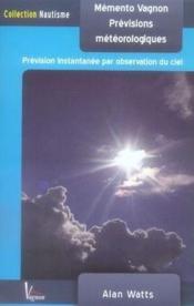 Mémento vagnon des prévisions météorologiques (2e édition) - Couverture - Format classique