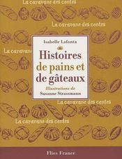 Histoires de pains et de gâteaux - Couverture - Format classique