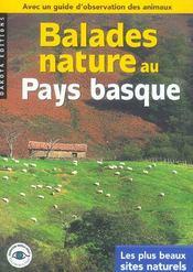 Balades Nature ; Au Pays Basque - Intérieur - Format classique