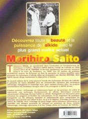 Takemusu aikido t.2 - 4ème de couverture - Format classique