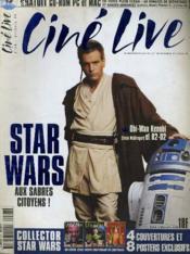 CINE LIVE - N° 28 - STAR WARS, aux sabres citoyens - Couverture - Format classique