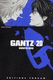 Gantz t.20 - Intérieur - Format classique