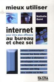 Mieux utiliser Internet pour être plus efficace au bureau et chez soi - Intérieur - Format classique