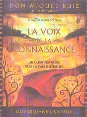 Voix De La Connaissance (La) - Intérieur - Format classique