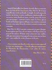 Voix De La Connaissance (La) - 4ème de couverture - Format classique