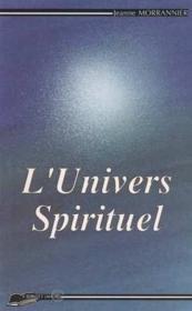 L'univers spirituel - Couverture - Format classique