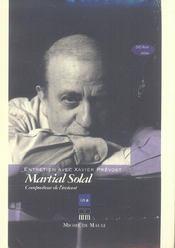 Martial Solal (+ Dvd Rom) - Intérieur - Format classique