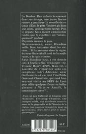 Les sorciers de la Dombes - 4ème de couverture - Format classique