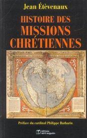 Histoire Des Missions Chretiennes - Intérieur - Format classique