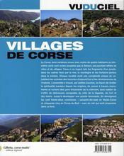 Villages de Corse - 4ème de couverture - Format classique