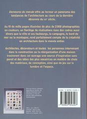 Demeures Du Monde - 4ème de couverture - Format classique
