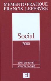 Social 2000 ; droit du travail ; securite sociale - Intérieur - Format classique