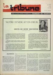 Tribune (La) N°414 du 01/05/1966 - Couverture - Format classique