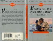 Mission De Choc Pour Miss Abbott - His Chariot Awaits - Couverture - Format classique