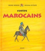 Contes marocains - Couverture - Format classique