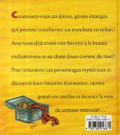 Contes marocains - 4ème de couverture - Format classique