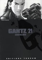 Gantz t.21 - Couverture - Format classique