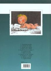 Cédric t.9 ; parasite sur canapé - 4ème de couverture - Format classique