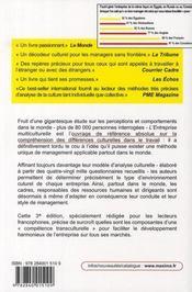 L'entreprise multiculturelle (3e édition) - 4ème de couverture - Format classique