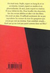 Arrete Ton Cinema ! - 4ème de couverture - Format classique
