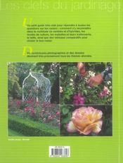Culture Des Rosiers (La) - 4ème de couverture - Format classique