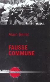 Fausse Commune - Couverture - Format classique