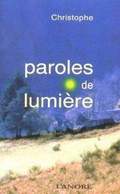 Paroles De Lumiere - Intérieur - Format classique