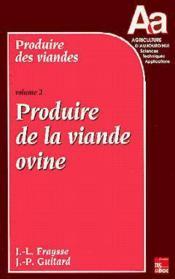 Produire Des Viandes - Volume 2 - Couverture - Format classique