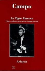 Tigre Absence (Le) - Couverture - Format classique