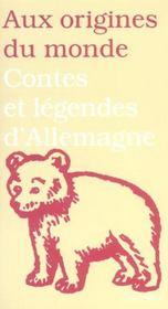 Contes et legendes d'allemagne suisse - Intérieur - Format classique