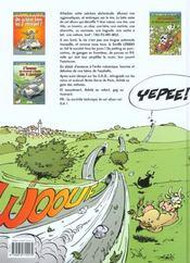 Les Damnes De La Route T.3 ; Les 2 Chevaux Se Cachent Pour Mourir - 4ème de couverture - Format classique