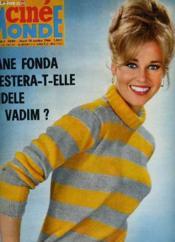 Cinemonde - N° 1663 - Jane Fonda Restera-T-Elle Fidele A Vadim? - Couverture - Format classique