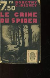 Le Crime Du Spider - Death In The Seat - Couverture - Format classique