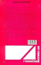 Les Enjeux De L'Evaluation - 4ème de couverture - Format classique