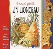 Lionceau (Comment Grandit) - Intérieur - Format classique