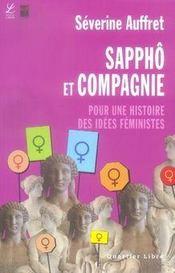 Sappho et compagnie ; pour une histoire des idees feministes - Intérieur - Format classique