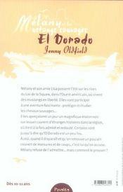 Melany Et Les Mustangs Sauvages-El Dorado - 4ème de couverture - Format classique
