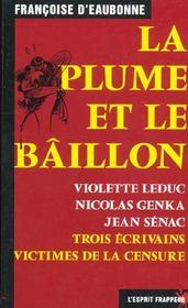 La Plume Et Le Baillon - Intérieur - Format classique